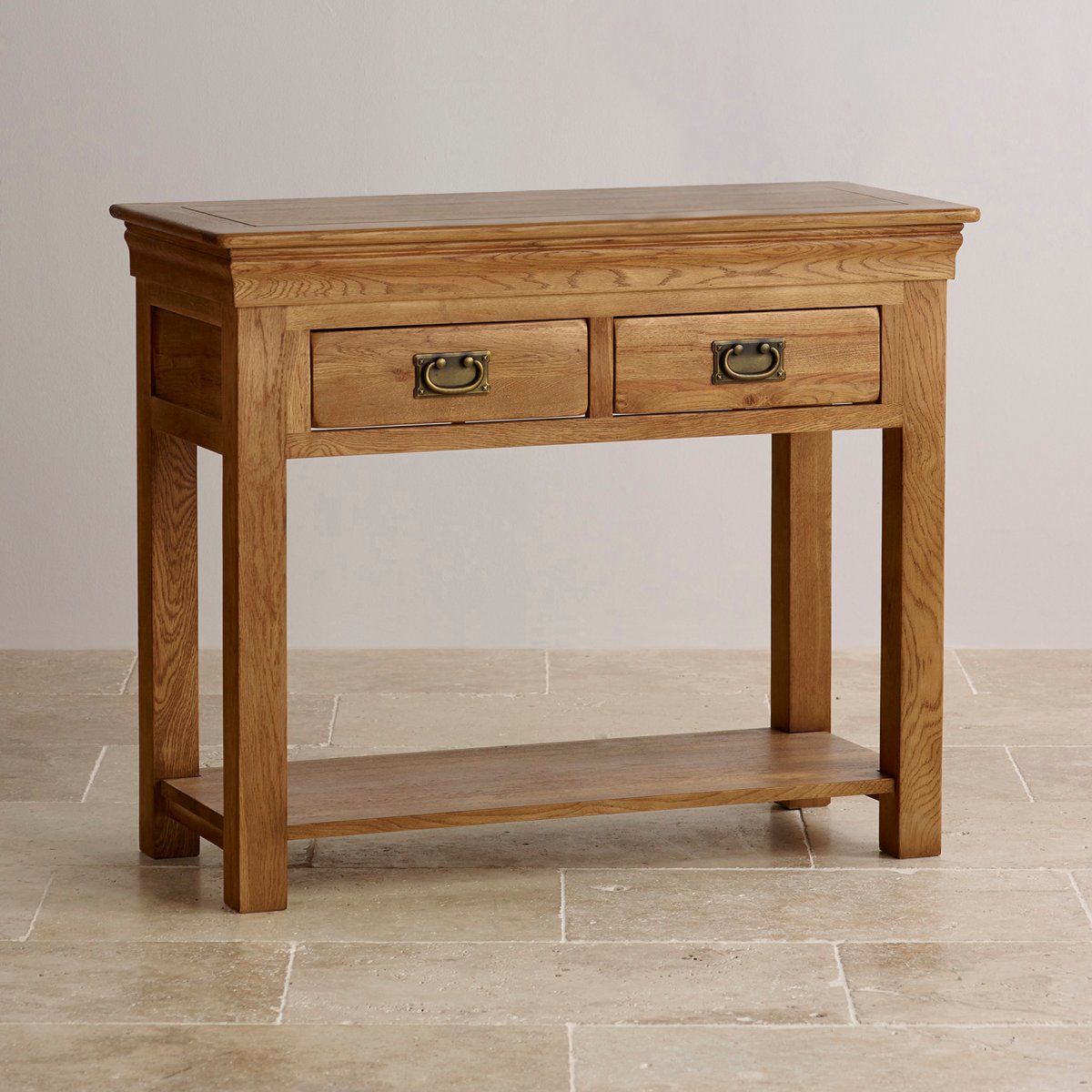5 Console Table ~ French farmhouse console table solid oak furniture