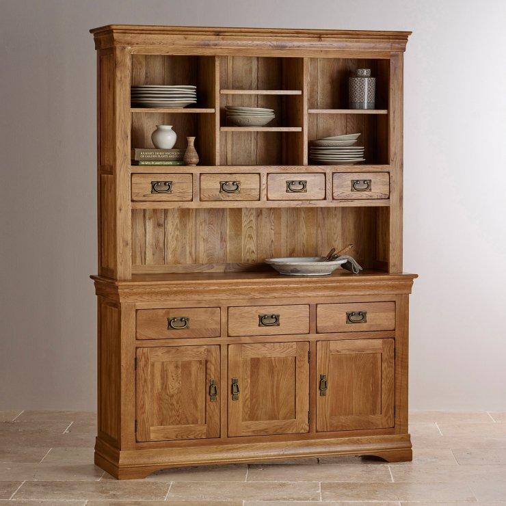 French Farmhouse Dresser Solid Oak