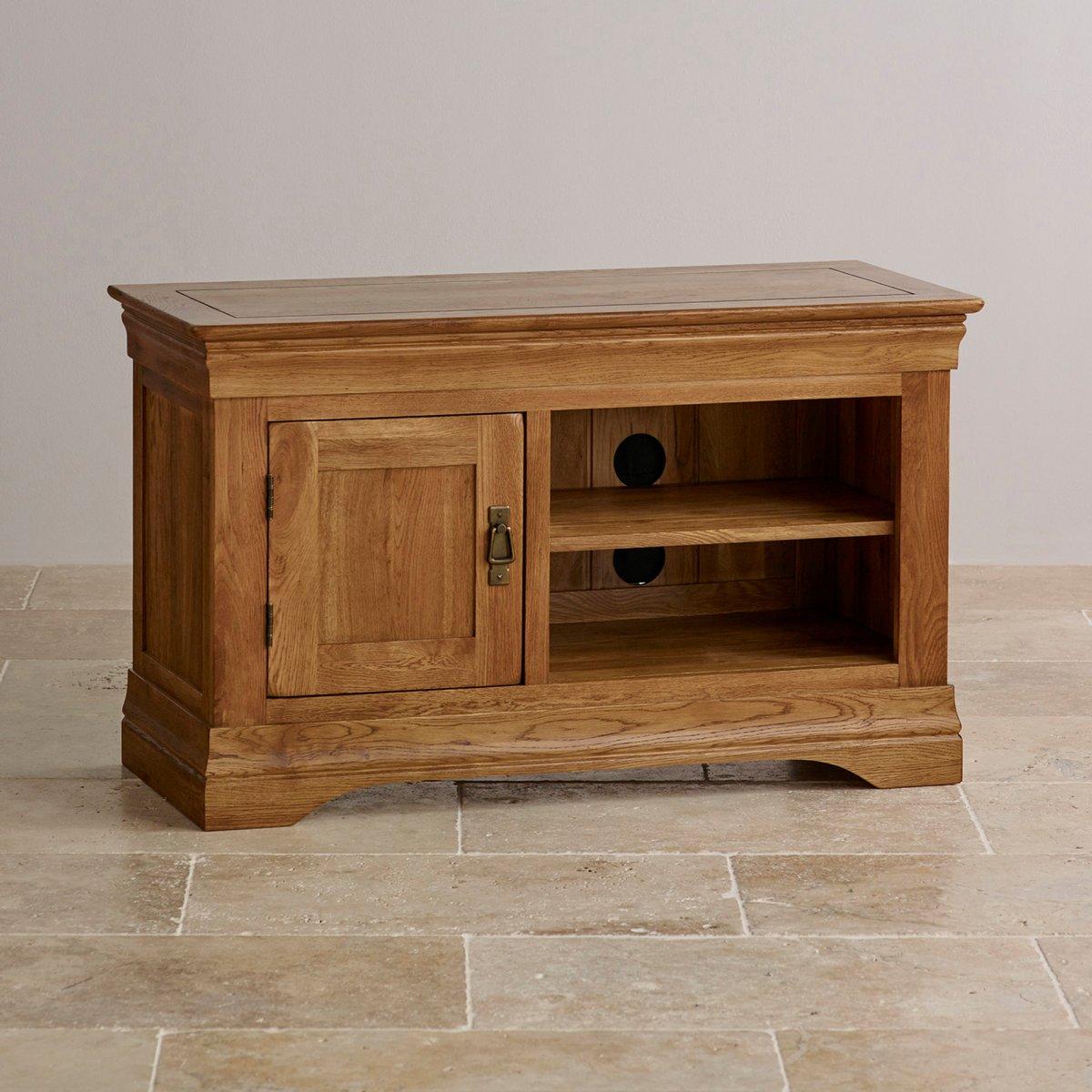 French farmhouse tv cabinet solid oak oak furniture land for Furniture land