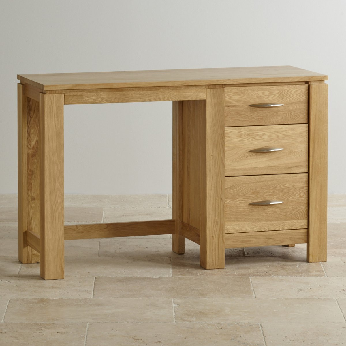 Galway natural solid oak dressing table by furniture land