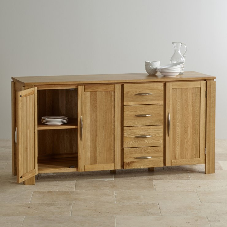 Galway Natural Solid Oak Large Sideboard