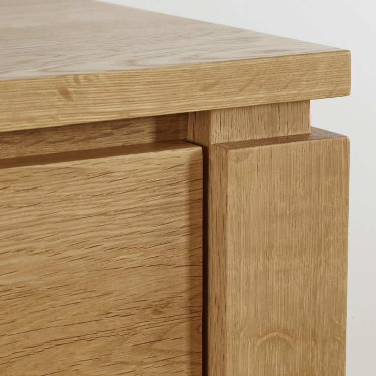 Galway Natural Solid Oak 5+2 Drawer Chest