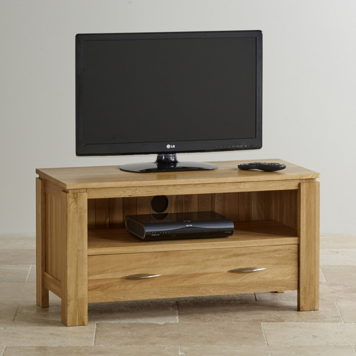 Living Room Tv Furniture Galway Natural Solid Oak Tv Dvd Stand Living Room Furniture