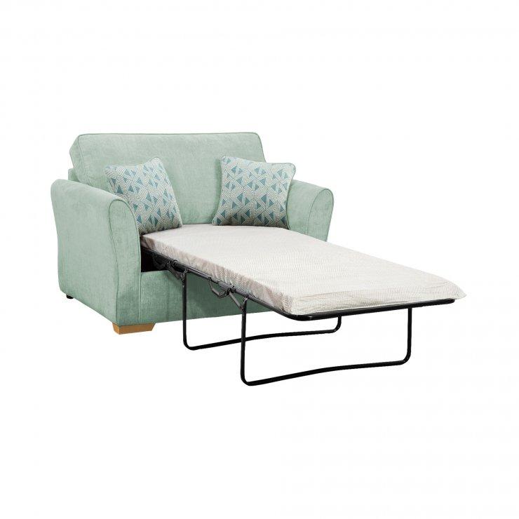 Jasmine Armchair Sofa Bed In Cosmo Duck Egg