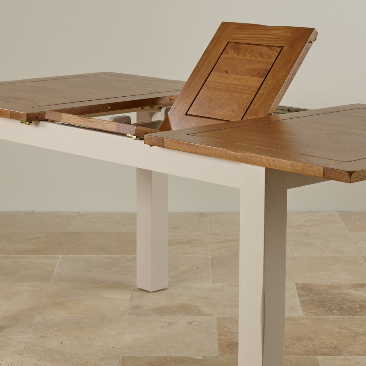 Dining table with slot in chairs