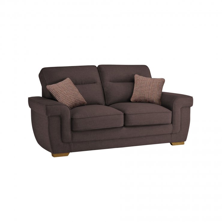 Kirby 2 Seater Sofa Bed with Deluxe Mattress in Barley Taupe