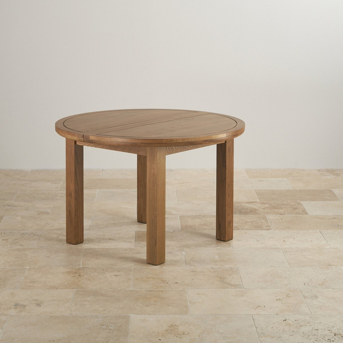 Knightsbridge Round Extending Dining Table Set Table 4