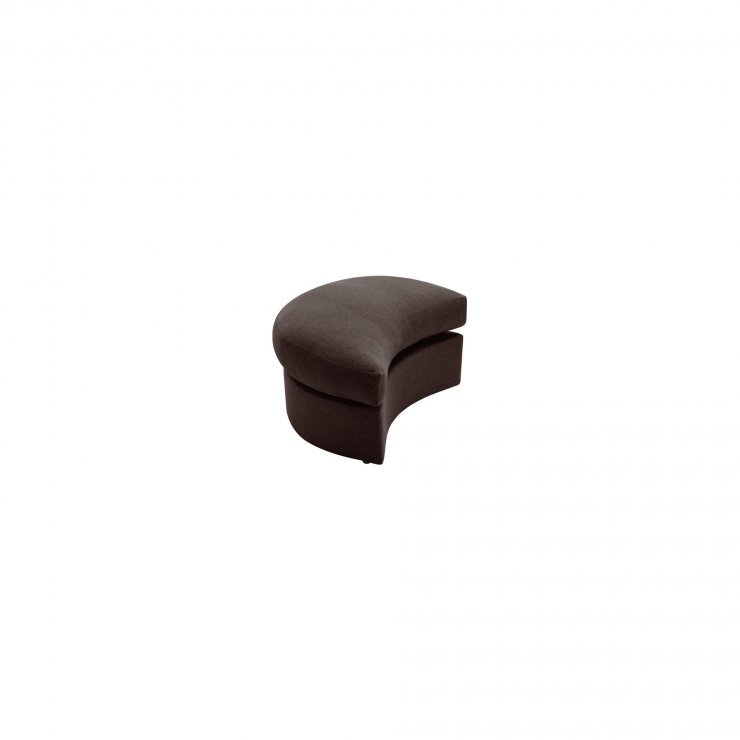 Maddox Twist Footstool in Delia Brown