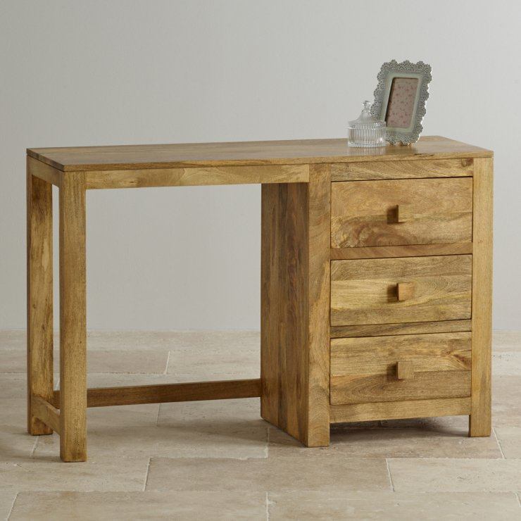 Mantis Light Natural Solid Mango Dressing Table