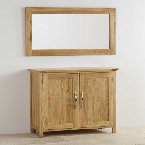 Clermont Painted Rough Sawn Oak Mm X Mm Wall Mirror