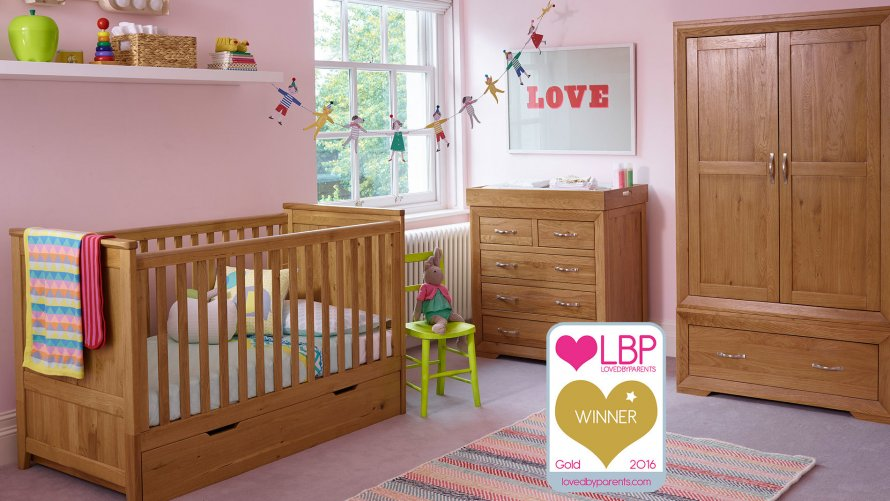 Nursery Furniture  Oak Furniture Land