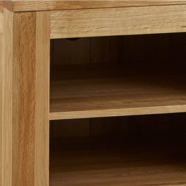 Oakdale Natural Solid Oak Small TV Cabinet