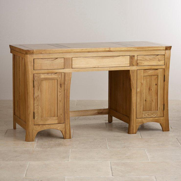 orrick computer desk rustic solid oak oak furniture land