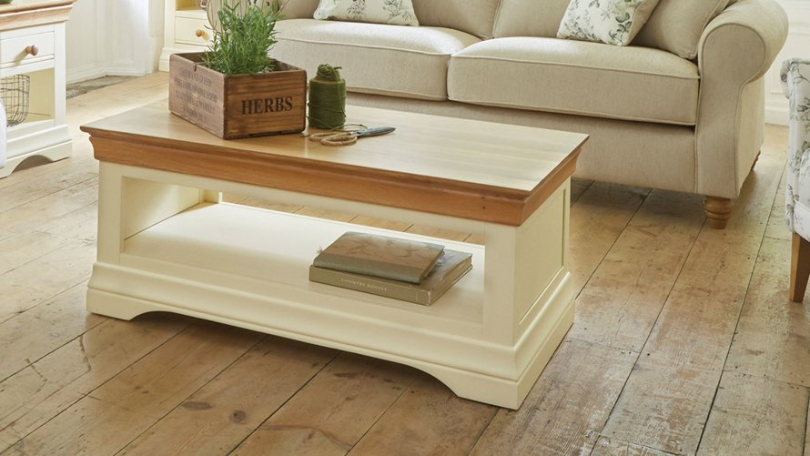 Coffee Tables with Drawers  Oak Furniture Land