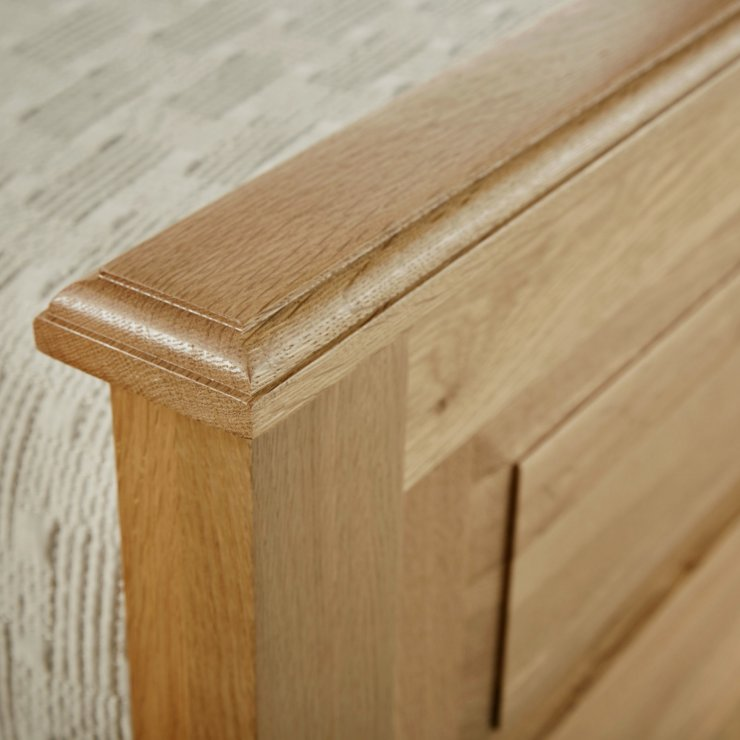 Rivermead Natural Solid Oak 3ft Single Bed
