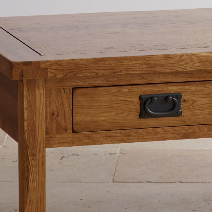 Indore Coffee Table With 6 Drawers: Original Rustic 4 Drawer Coffee Table In Solid Oak