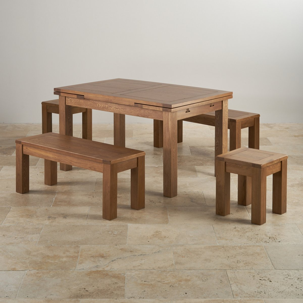 7 PC VANCOUVER OVAL DINETTE KITCHEN DINING TABLE