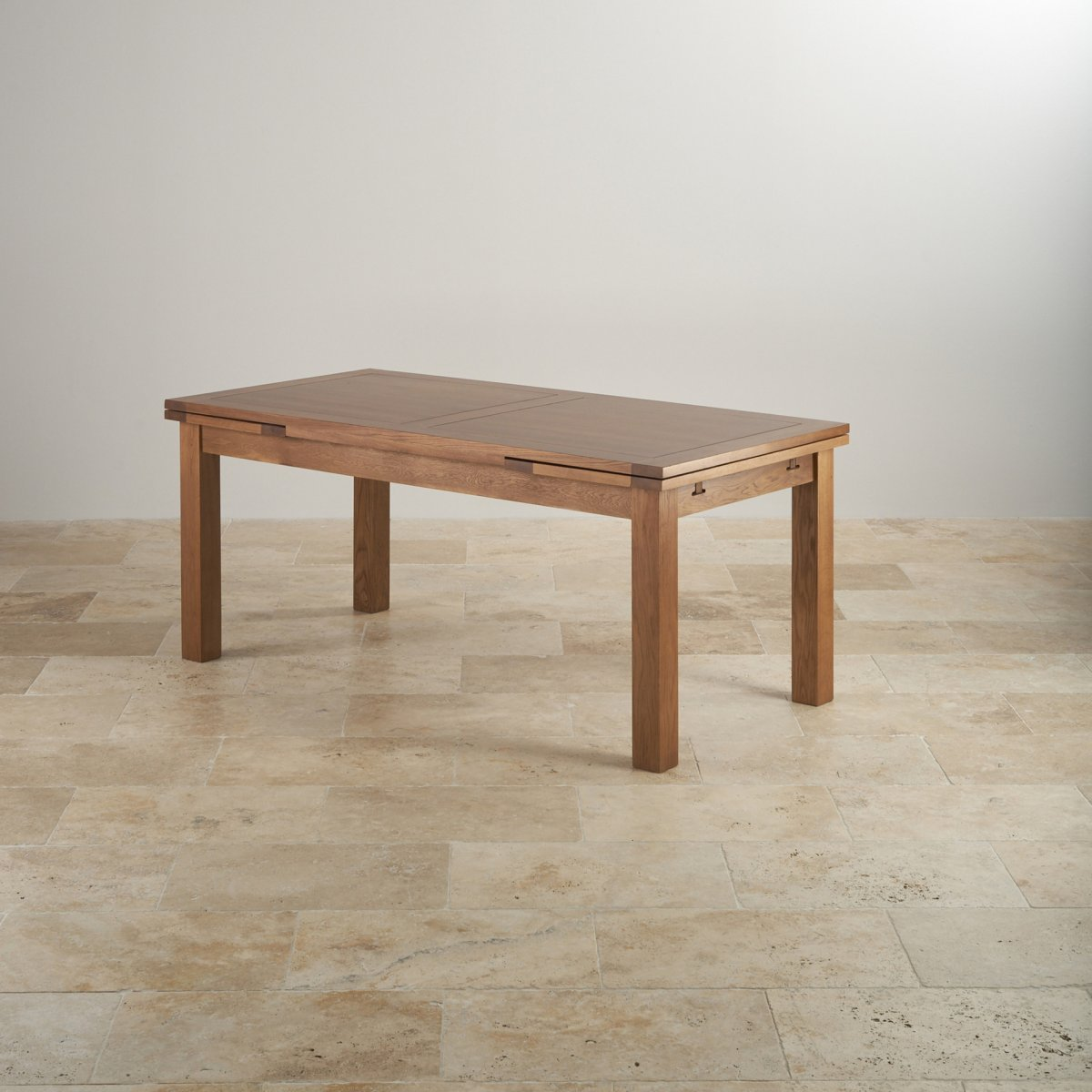 Oak Dining Table Set ~ Rustic oak dining set ft table with chairs