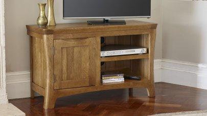 Tv Cabinets Amp Units 100 Solid Hardwood Oak Furniture Land