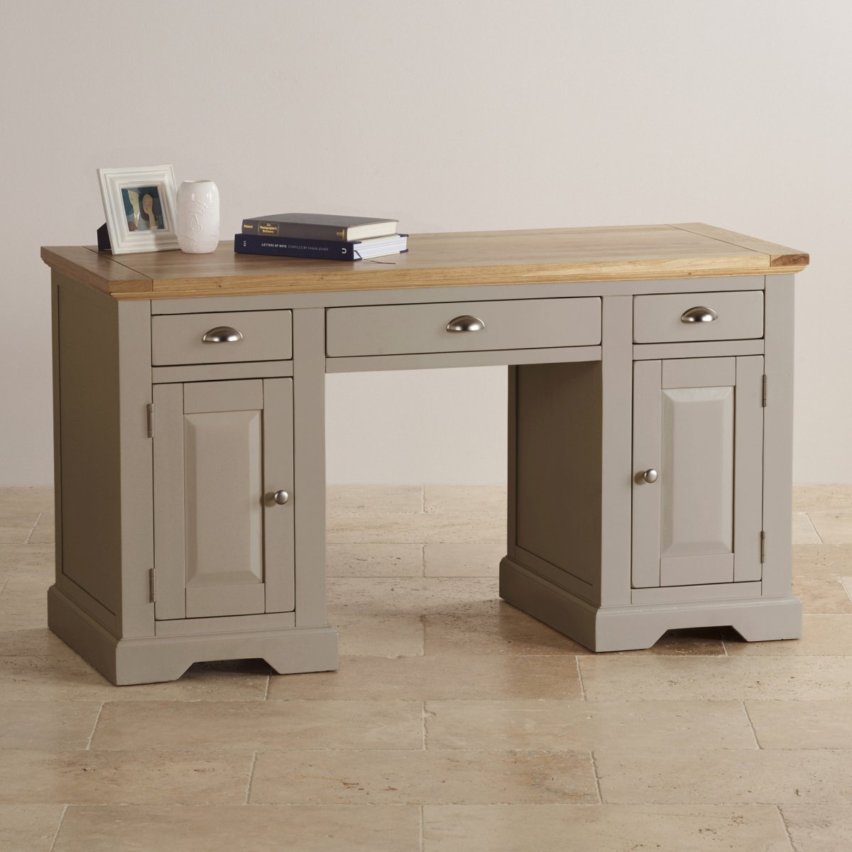 St Ives Computer Desk In Painted Acacia