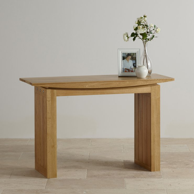 Tokyo Natural Solid Oak Console Table