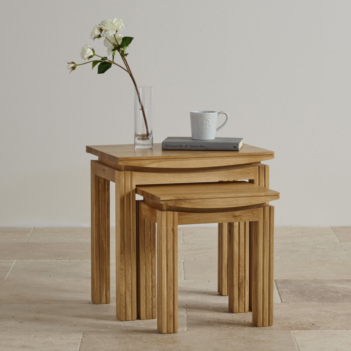 solid wood nest of tables - moncler-factory-outlets