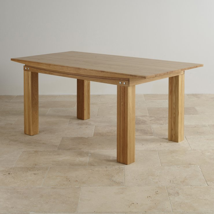 Tokyo Real Oak 6ft x 3ft Dining Table