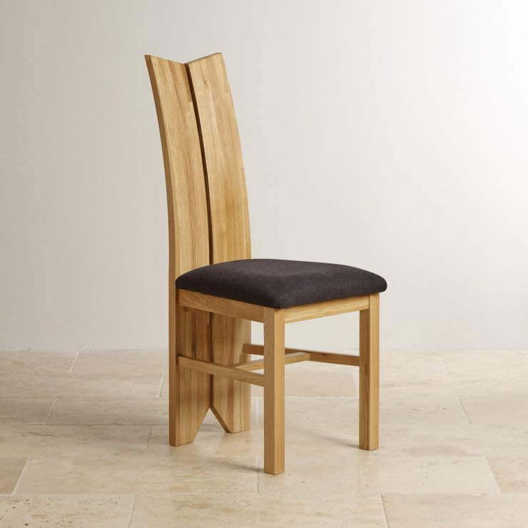 Tulip Solid Natural Oak with Black Plain Fabric Dining Chair : tulip natural solid oak and plain black fabric dining chair 567ae7bc4fbb2f374e4649057e7e5cf1237474dc8ca71 from www.oakfurnitureland.co.uk size 740 x 740 jpeg 48kB