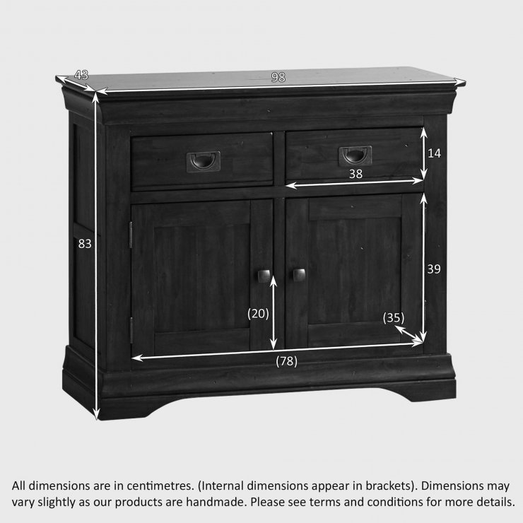 Victoria Solid Hardwood Small Sideboard
