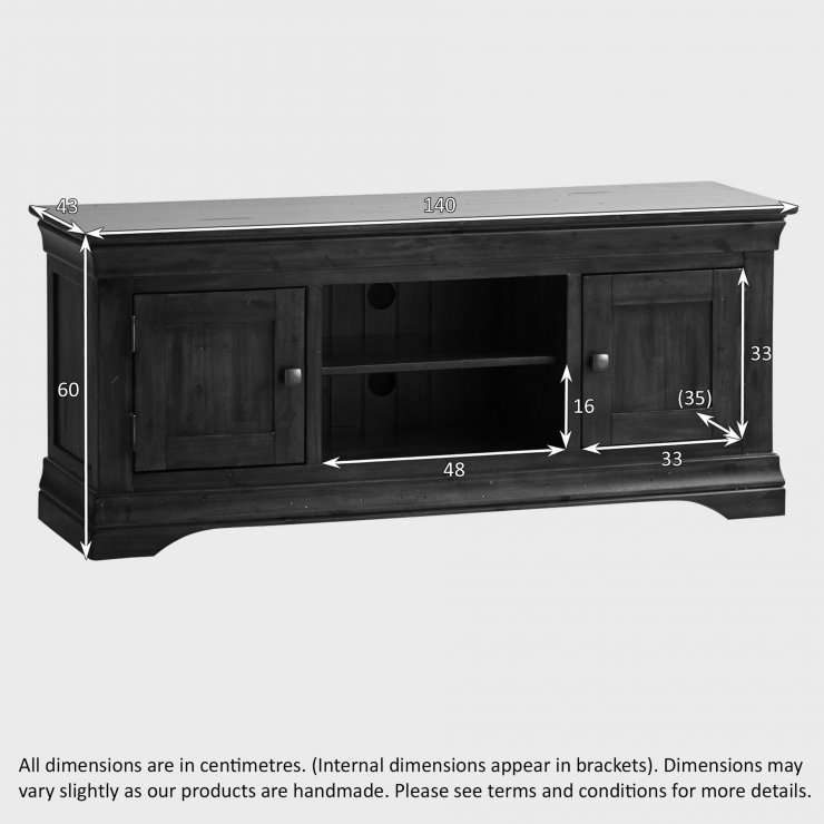 Victoria Large TV Cabinet In Acacia