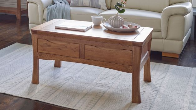 Oak Coffee Tables Solid Wood Coffee Tables Oak