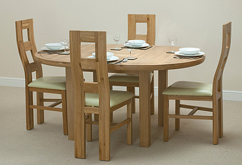 Dining Tables For The Growing Family By Oak Furniture Land