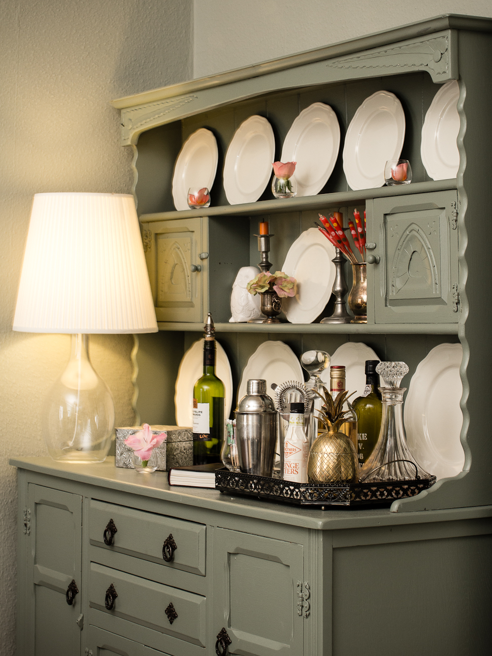 How to Style a Welsh Dresser by Carole Poirot | The Oak