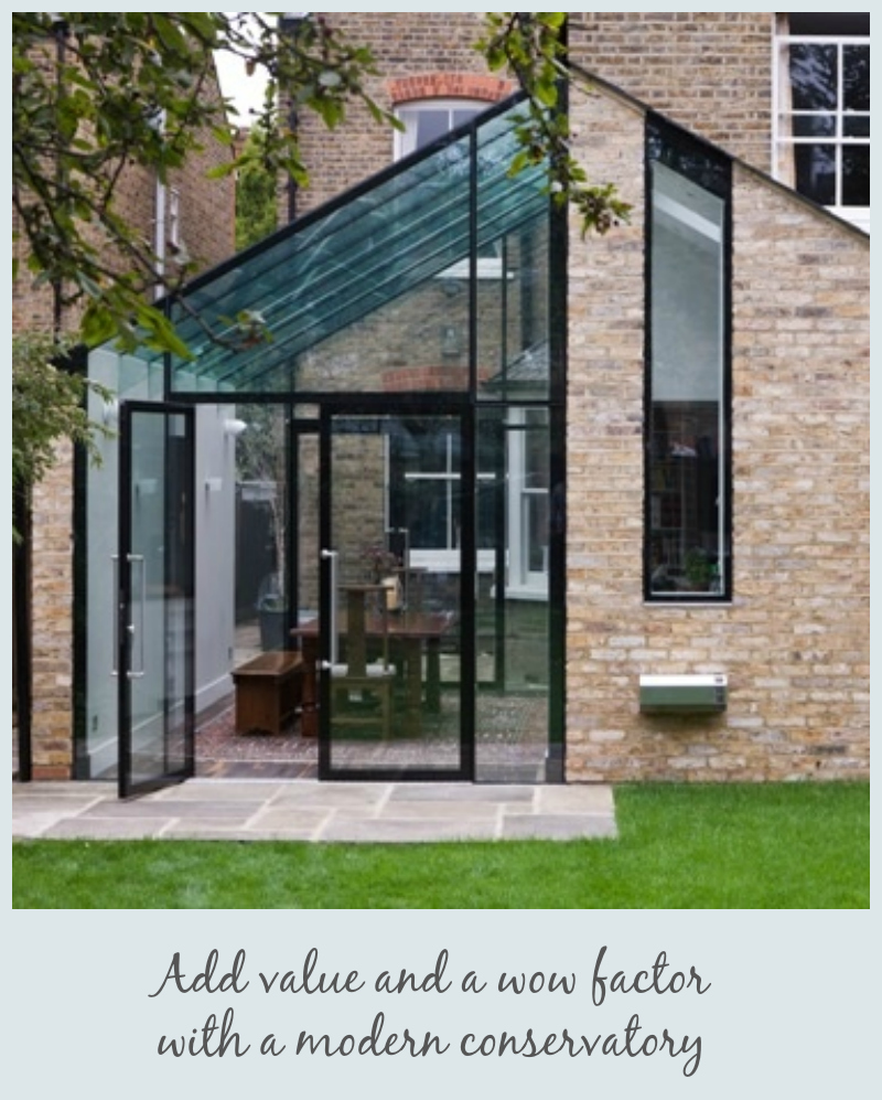 How to add value to your home by jen stanbrook the oak for Adding a conservatory
