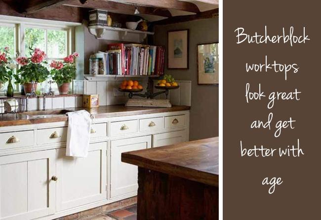 Butcherblock worktops