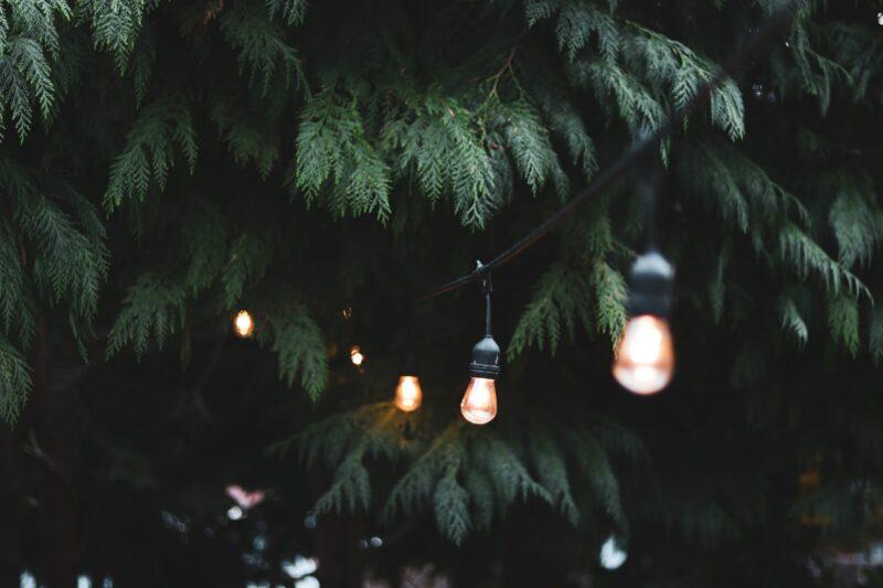 ~Outdoor garden string light