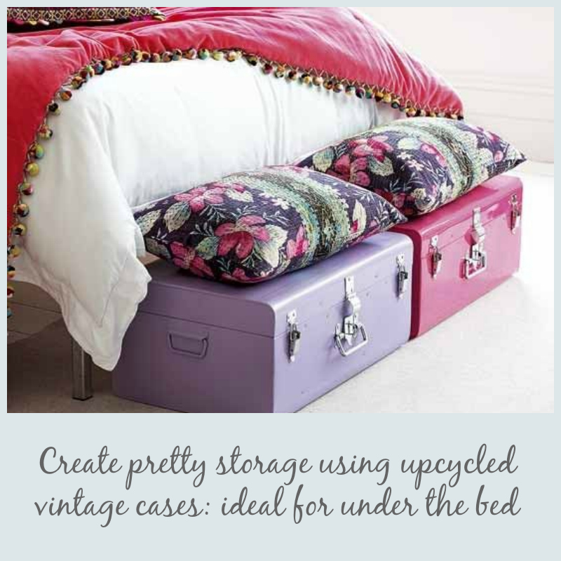 bed suitcases