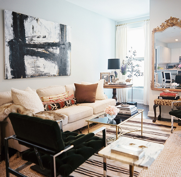Get The Look Eclectic Neutrals Living Room By Kimberly