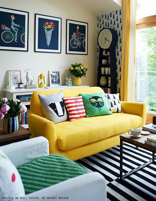 Bright Bazaar Striped Living room