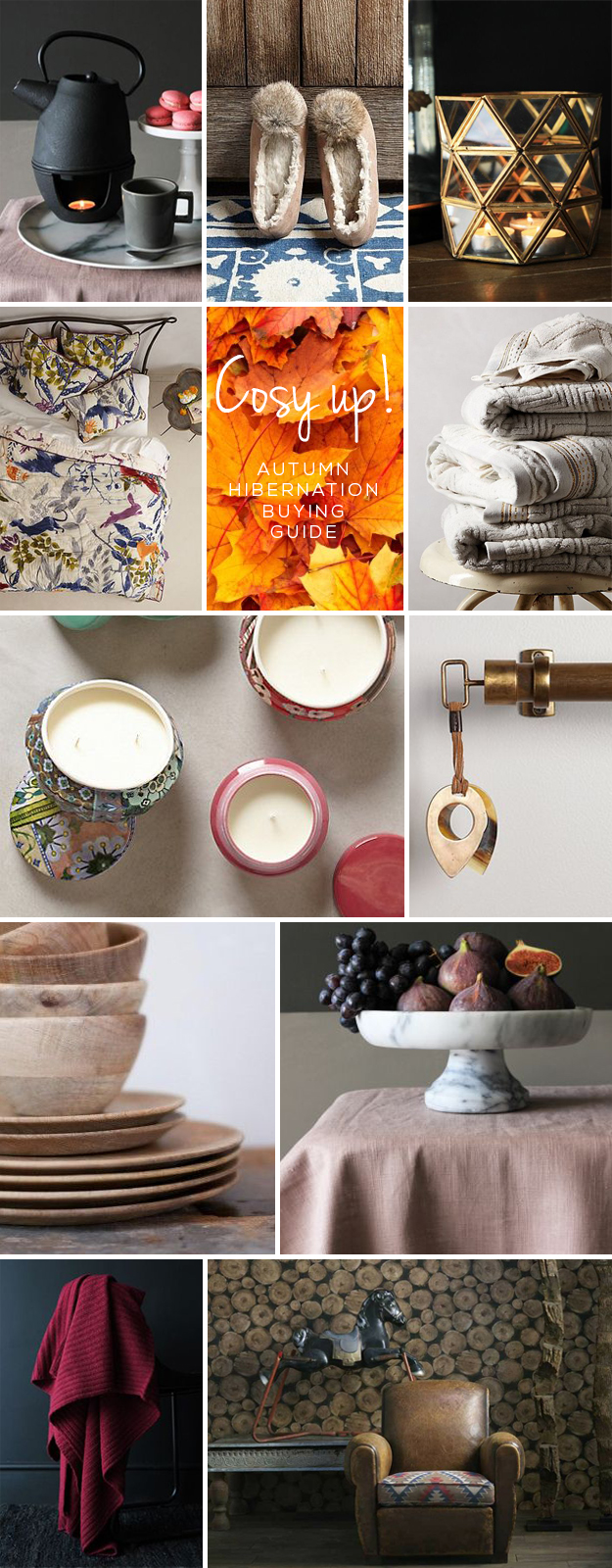 Cosy Up this Autumn Buying Guide