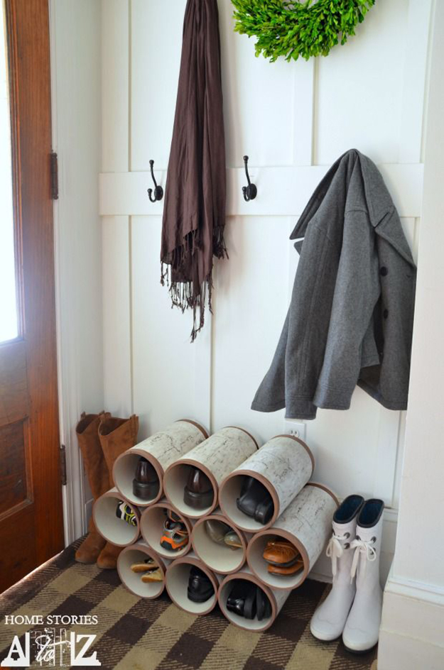 Charmant Pipe Storage Shoes