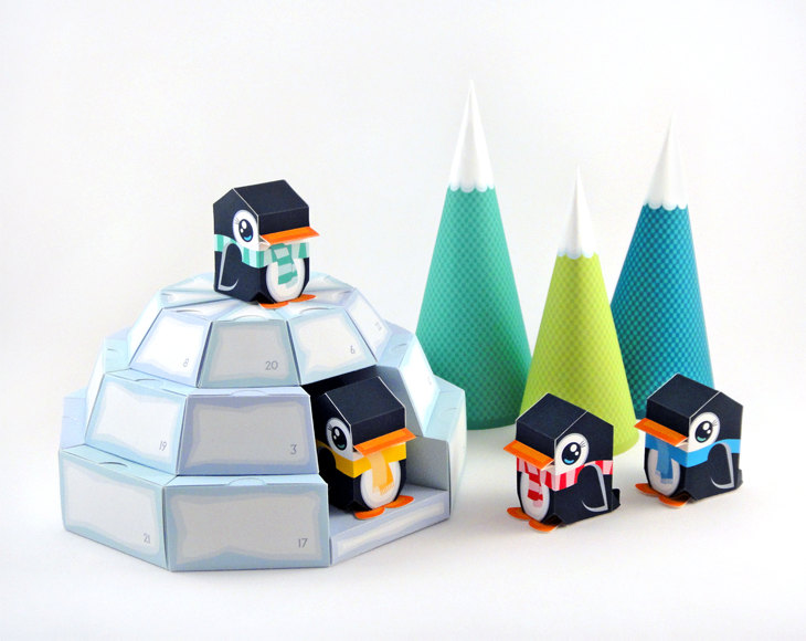Penguin diy advent