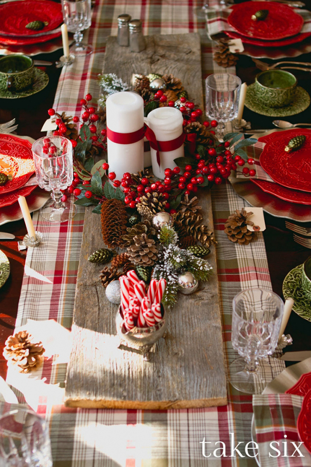 The Best Dressed Christmas Tables By Carole Poirot The