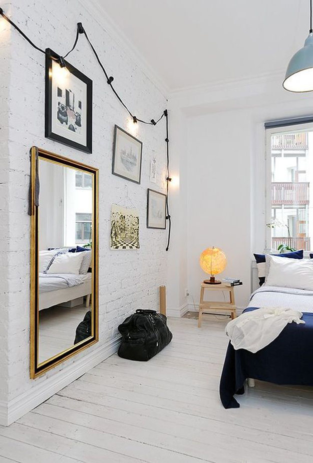 Add Interesting Lighting to a Bedroom
