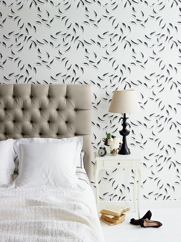 Add Wallpaper to the Bedroom