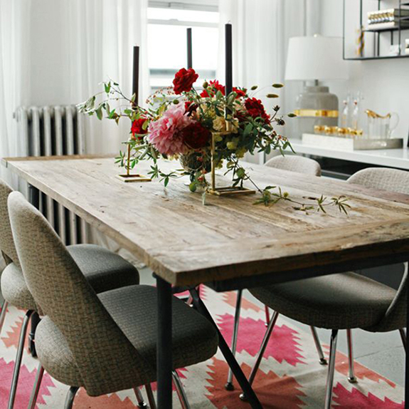 5 tips to create an eclectic dining room by kimberly duran for Q station dining room