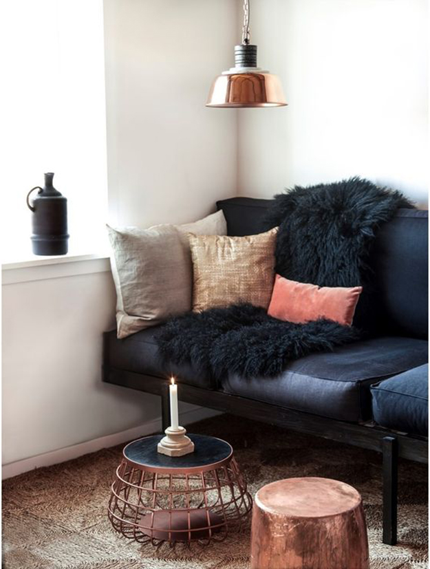 copper cushions