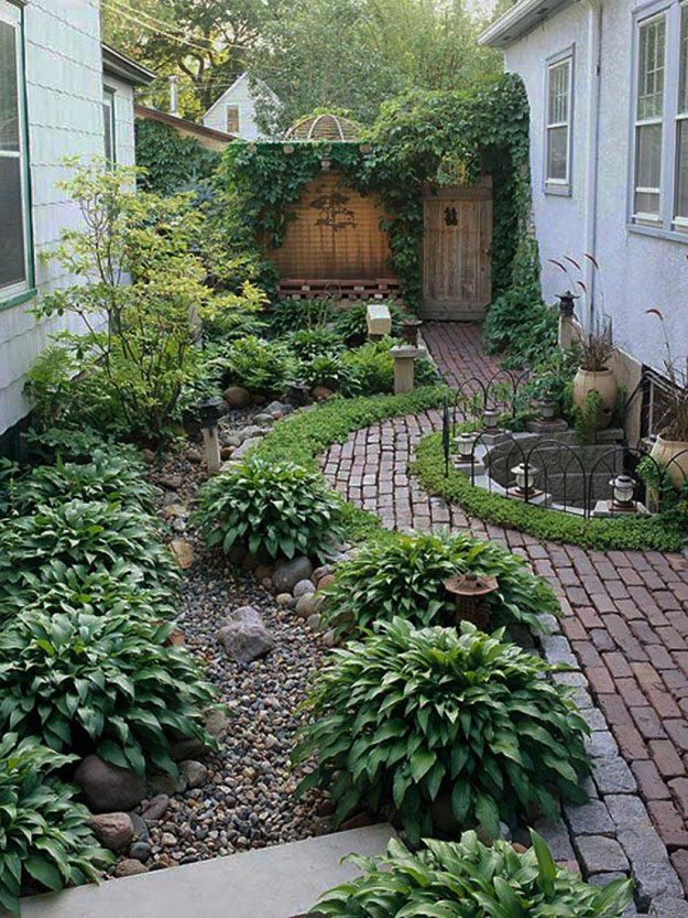 Low Maintenance Garden Tips For Reluctant Gardeners By Carole Poirot Simple Low Maintenance Gardens Ideas Model