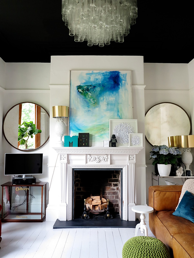 Should You Paint Your Ceiling By Kimberly Duran The Oak