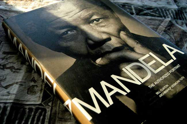 Nelson Mandela book cover